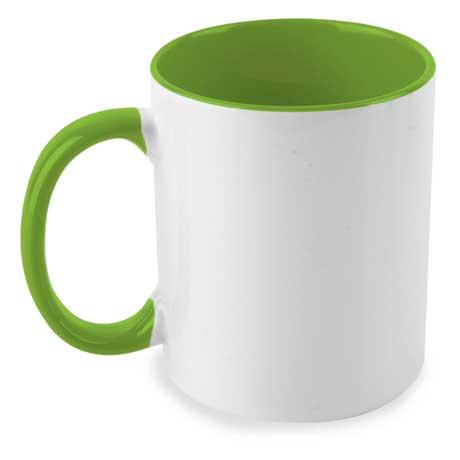 Taza Bicolor Verde