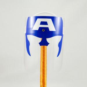 Mascara Protectora Infantil Capitán América