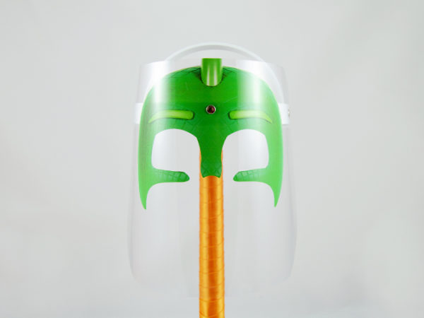 Máscara Protectora Infantil Gekko