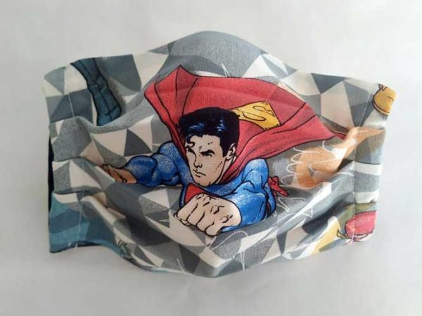 Mascarilla diseño Superman