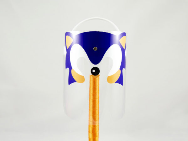 Máscara Protectora Infantil Sonic