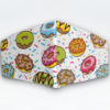 Mascarilla Cubrebocas diseño Donut
