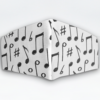 Mascarilla Cubrebocas diseño Música