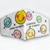 Mascarilla Cubrebocas diseño Smile