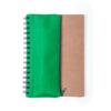 Libreta verde reciclada