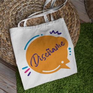 Bolsa de algodón personalizada