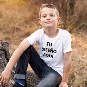 Camiseta Niño Algodón Personalizable