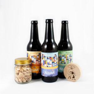 Pack Cerveza + Almendras + Abridor
