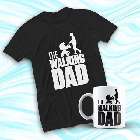 Pack walking dad