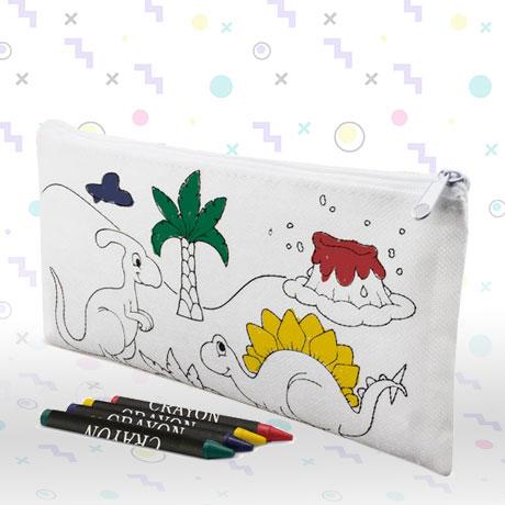 Estuche Dinosaurios Para Pintar