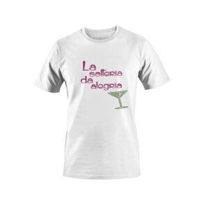 Camiseta la soltería blanco
